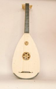 4 course Medieval lute