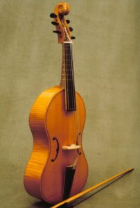 Treble viol after an English model